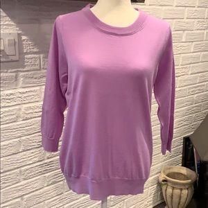 NWOT JCrew Lilac Tippi sweater